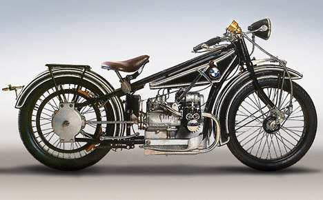 Vintage Motorcycle Photographs