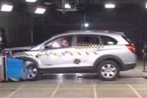 Краш-Тест Chevrolet Captiva