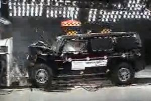 Краш-тест Hummer