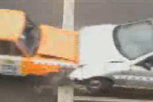 Краш-Тест Daewoo Lanos и ВАЗ-2101