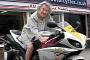 Бабушка на мотоцикле