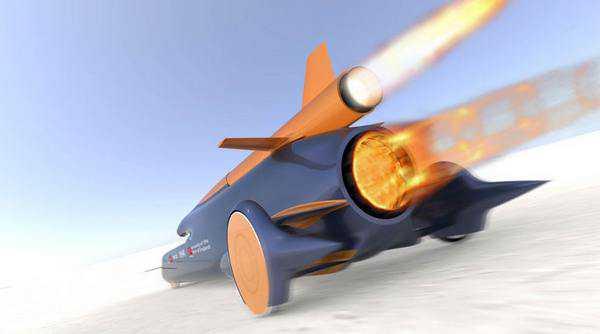 Ричард Нобель и его команда планируют достичь отметки в 1609 км/ч