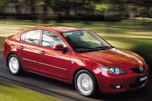 Предыдущее поколение Mazda 3