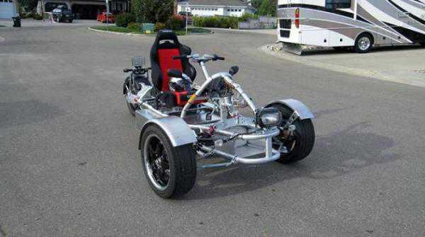 Полноприводный электромобиль своими руками 79