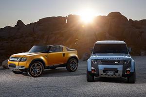 Новое поколение Land Rover Defender