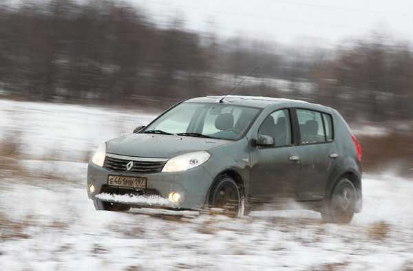 Renault Sandero 1.6 Prestige АКПП