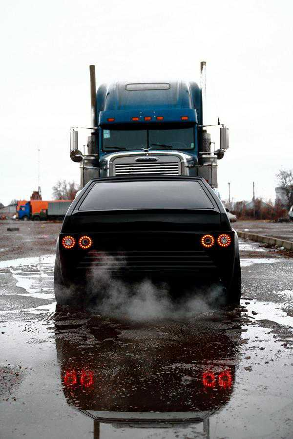 ВАЗ 2108 Акула и Optimus Prime