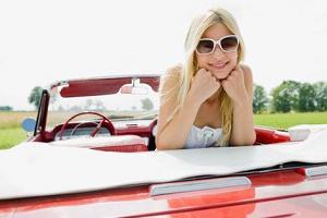 Как блондинке выбрать авто?