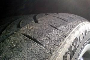 Как быстро износятся шины фото