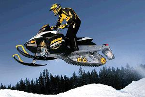снегоход фото