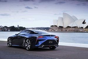 Lexus LF-LC Blue фото